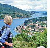 Dalmatian Coast walking photo